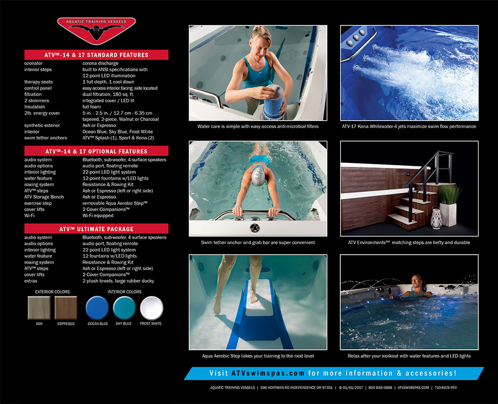 ATV Atlas Spas & Swim Spas by Marquis