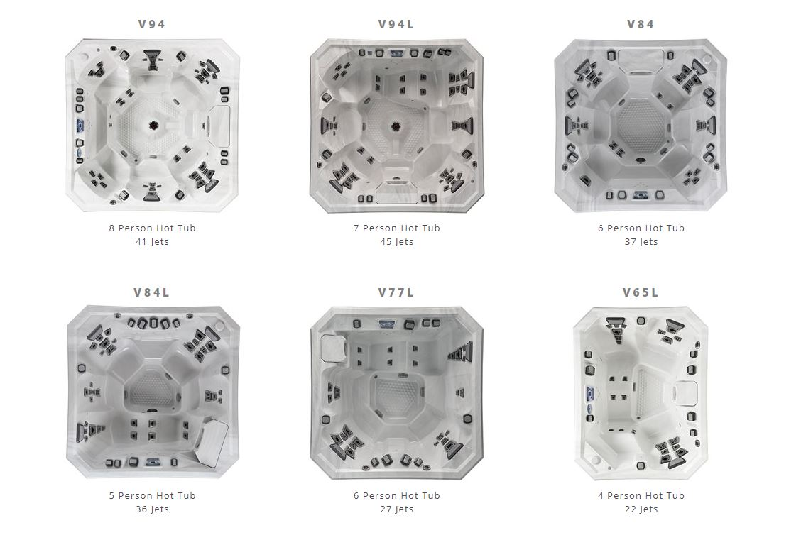 Vector 21 Atlas Spas & Hot Tubs by Marquis
