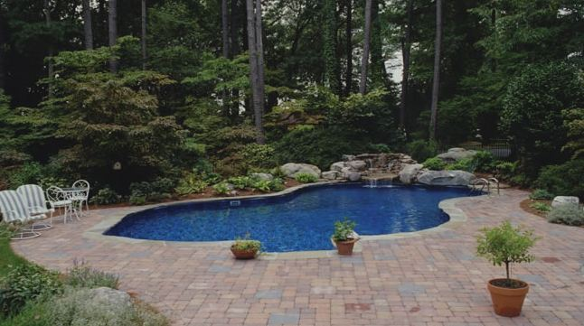 In ground pools by atlas pools spas contractor for In ground swimming pool contractors